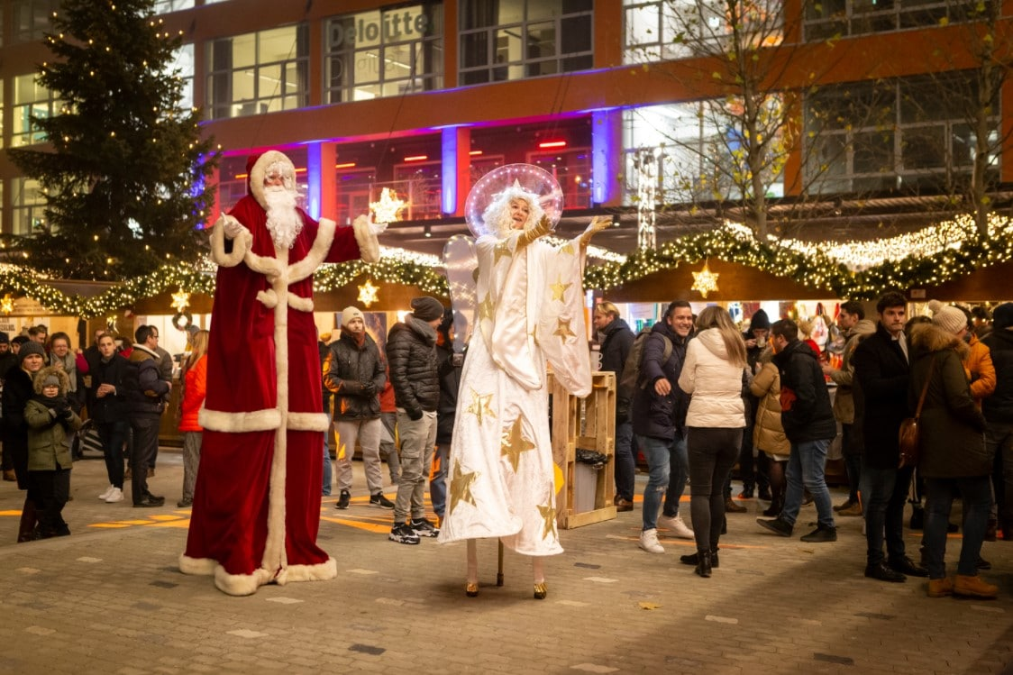 Weihnachtsmarkt im Werksviertel-Mitte