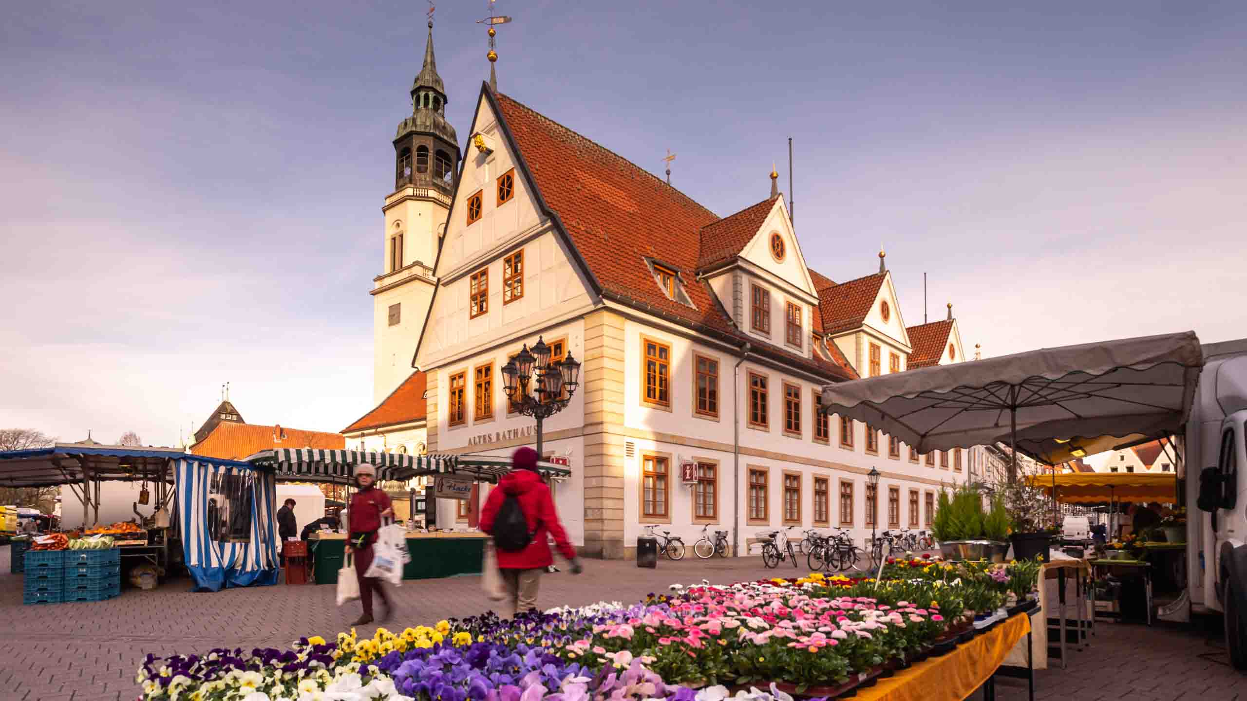 Celle Wochenmarkt Altstadt